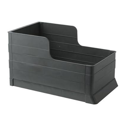 IKEA RATIONELL - extraíble bandeja de clasificación de residuos, de color gris oscuro