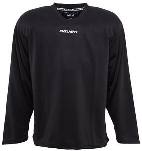 Bauer Core Practice Jersey Adult Sizes (Black, XL)