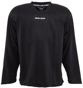 Bauer Core Practice Jersey Adult Sizes (Black, XL)