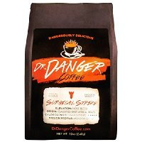 DrDanger Coffee - SURGICAL STRIKE - Scientifically selected, blended & roasted - whole bean - 12oz Thank you for using our service