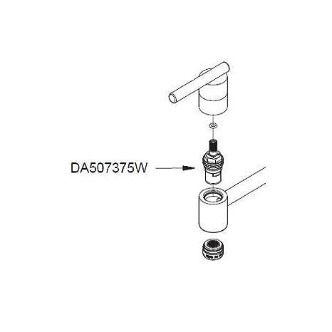 Amazon.com: Danze DA507375W Ceramic Disc Cartridge- Hot Side ...