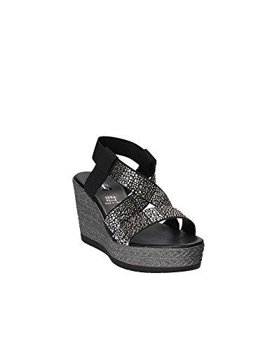 Altos Sandalias Shoes Negro 91906 Grace Mujeres qHFtwzwA