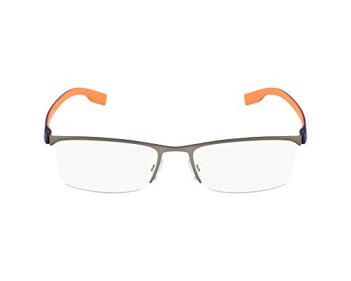 Hugo Boss eyeglasses BOSS 0610 FQC Metal Gun - Dark - Glasses Boss Rimless Hugo