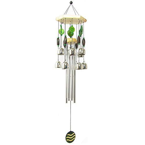 Campanas de Viento de Metal de Aluminio Creativo Carillones de Viento de Estilo japonés Colgando Campanas de Viento...