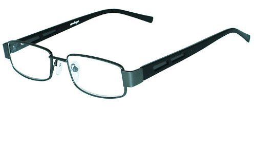 About Eyes Duke Ready To Wear Reading Glasses Strength With Soft Case +3.5 Metal - Uk Glasses Reading Ready