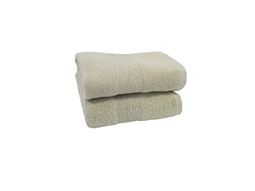 Simpsons Towel - Jessica Simpson 2 Pack Solid Hand Towel, Oyster Grey