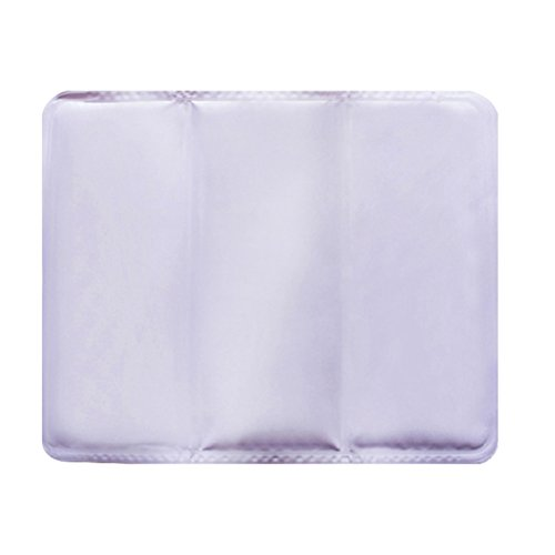 Nunubee Multifunction Hot Summer Cool Soft Cartoon Car Chair Cushion Seat Ice Pad Water Injection Ice Cushion DIY Notebook Cooling Pad Ice Pillow(Purple)
