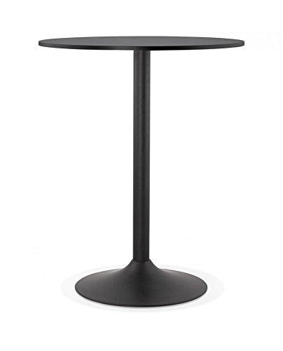 Générique Mesa Bar Design tapeo Black 90 x 90 x 110 cm: Amazon.es ...