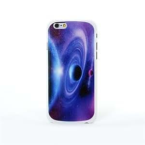 WQQ moda pintura colorida diagonal el cielo con diamantes de imitación caso patrón bowknot estrellas caso de iPhone6