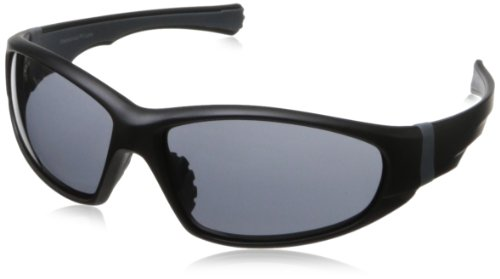 Chili's Men's Foxfire Wrap Sunglasses,Black,62 - Sunglasses Chili