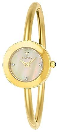 Invicta Damen-Armbanduhr Analog Quarz Edelstahl Beschichtet-23259