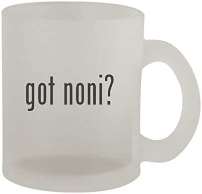 got noni? - 10oz Frosted Coffee Mug Cup, Frosted