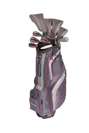 Merchants Of Golf Ladies Tour X Lg-17 16 Piece Set Pink Ladies Left Hand