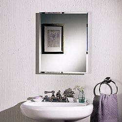 RANGAIRE MFG COMPANY BATHROOM VANITIES & CABINETS 591092 Recessed Medicine Cabinet White 16'' x 22'' x 4''