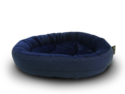AKC-Casablanca-Round-Solid-Pet-Bed