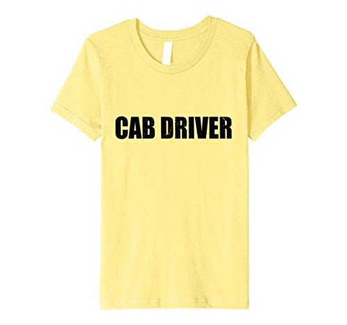 Cab Driver Costume (Kids Cab Driver Halloween Costume Party Cute & Funny T shirt 4 Lemon)