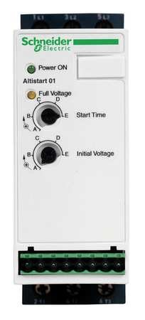 Soft Start, 110-460VAC, 12A, 1 or 3Phase