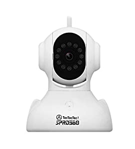 TECTECTEC! SPRO360 Webcam Fast Ethernet + WiFi, sans Fil