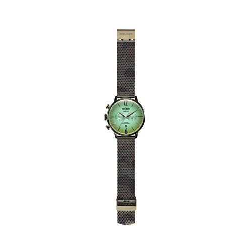 Welder Watch WWRC1016 Smoothy Man Green Steel