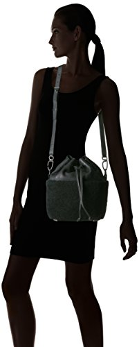 Women's Bag Berlin Lambskin Bucket Shearling and Black Liebeskind Oil Missisippi p5Z4WZF