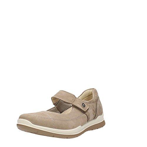 Enval 7947400 Ballerina Schuhe Frau Taupe
