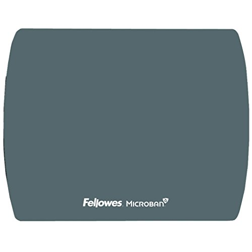 Microban Graphite Ultra Thin Mouse Pad - Antimicrobial Pad Mouse