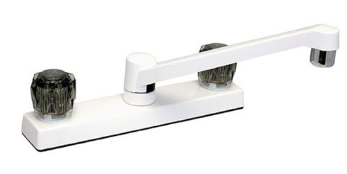 Phoenix Products 5017A White 8 Kitchen Faucet W10-1463