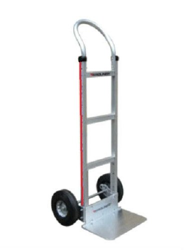 Hand Truck Aluminum Hand truck with Solid 18'' Nose & Air Tires 111-G1-1060 by Magline Modular (Image #4)