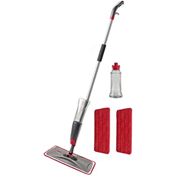 Amazon Com Rubbermaid Reveal Spray Mop Kit Fg1m1600gryrd