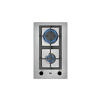 Teka EFX 30.1 2G AI AL CI But Integrado Encimera de gas Negro, Acero inoxidable - Placa (Integrado, Encimera de gas, Acero inoxidable, Negro, Acero ...