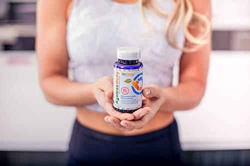 31vbQqaH8UL - BioTrust Ageless Body Anti-Aging Supplement   Turmeric Curcumin Extract, CurcuWIN, Vitamin C, CoQ10   Combats Cellular Aging   Non GMO, Soy Free & Gluten Free Formula   60 Capsules