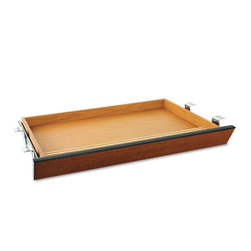 Laminate Angled Center Drawer, 26w x 15 3/8d x 2 1/2h, Bourbon Cherry