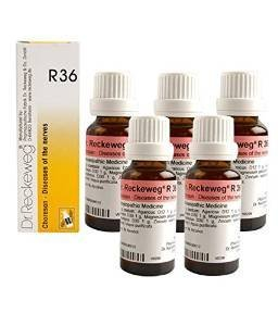5 Pack X Dr.Reckeweg-Germany R36- Nervous Disease --