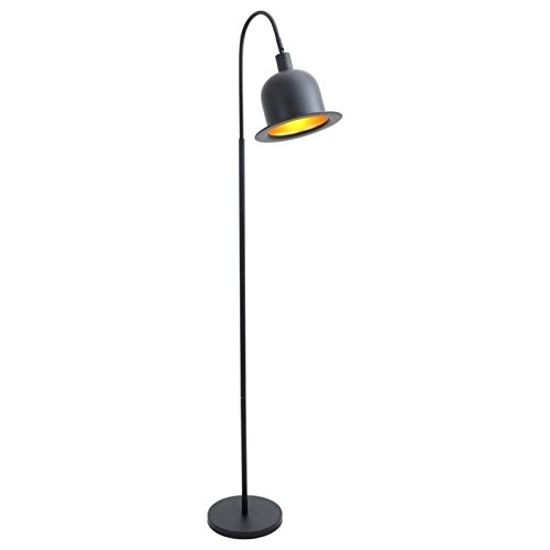 Lumisource Black Floor Lamp (WOYBR LS-L-CHRLFL BK Metal Material, Charlie Floor Lamp)
