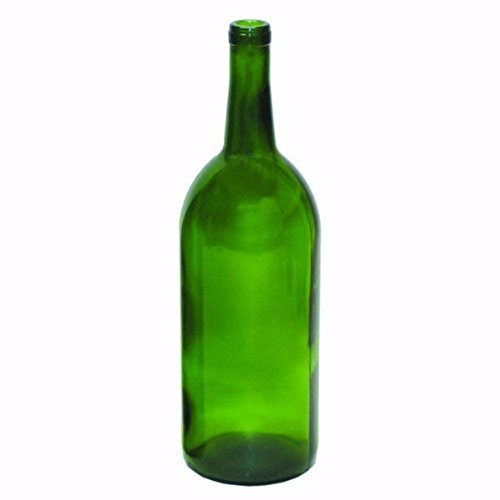 1.5 Liter Emerald Green Claret/Bordeaux Bottles, 6 per case by Midwest Homebrewing and Winemaking Supplies
