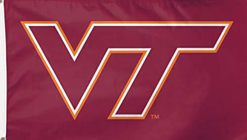 (WinCraft Virginia Tech Hokies Flag 3' x 5' - Orange)