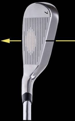#3 Hollow Head Driving Iron - 21 degree - Select Any Flex - Graphite Shaft - Right or Left Handed - Model AT510 - by THOMAS GOLF
