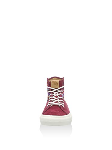 Vans Sk8 Hi Decon Spt Ca Tejido Italiano Cordovan / Multi High Tops Unisex Adulto