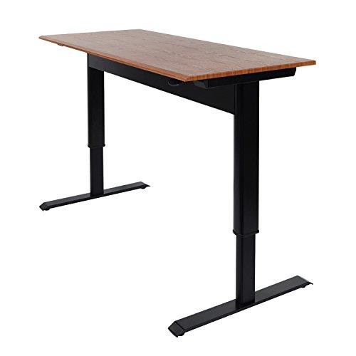Luxor 56″ Pneumatic Adjustable-Height Standing Desk