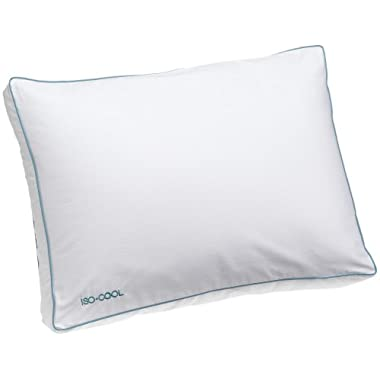 Iso-Cool Side Sleeper Polyester Pillow with Outlast Cover