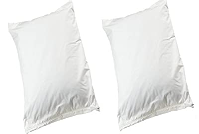 2 x Allersoft Cotton Dust Mite & Bed Bug Control Pillow Protectors