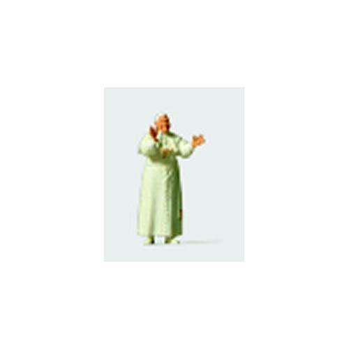 (Preiser 28060 Individual Figures Religious People Pope Benedict XVI HO Model Figure)