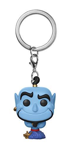 Funko 35932  Pop! Keychain: AladdinGenie, Standard, Multicolor