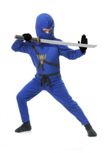 Blue Ninja Avengers Series Ii Toddler/kids Costume