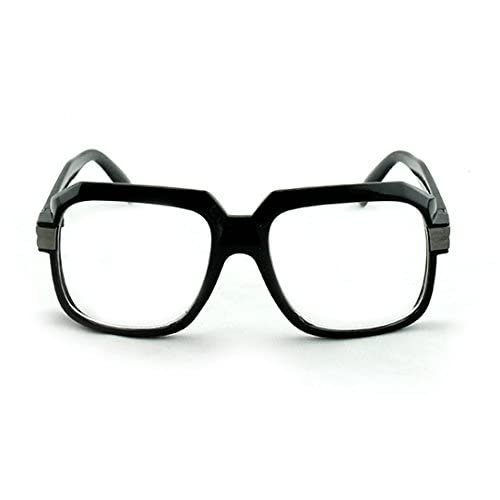 e0480a191781 Newbee Fashion - Thick Frame Rapper 80 s 90 s Retro Design Clear Lens  Frames hot sale