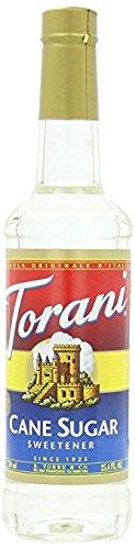 Torani Sweetener Syrup, Cane Sugar, 25.4 Ounce