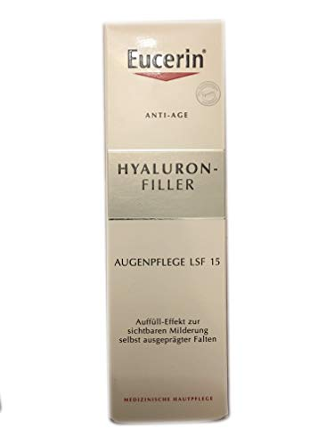 (Eucerin Anti Age Hyaluron Elastic Filler Eye & Lip Cream Advanced Firm & Lift 15ml)