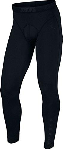 Nike Men's Jordan 23 Tech Training Compression Tights Black/Black (Medium)
