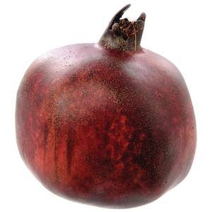 Large Red Artificial Pomegranate, 4'' by Retail Resource