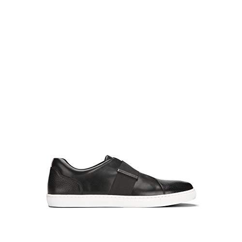 Kenneth Cole New York Men's Kam Slip-On Leather Sneaker - Men's - Black (Kenneth Keep New York Cole)